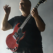 COLUMBIA, MD - May 30, 2015 - Frank Black of The Pixies performs at the 2015 Sweetlife Festival at Merriweather Post Pavilion in Columbia, MD. (Photo by Kyle Gustafson / For The Washington Post)