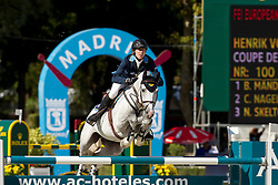 Von Eckermann Henrik (SWE) - Coupe de Coeur<br /> FEI European Jumping Championship - Madrid 2011<br /> © Dirk Caremans