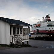Three weeks aboard the Kong Harald. Hurtigruten, the Coastal Express. Skjervoy.