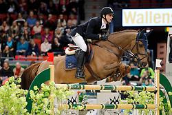 Oliver Lazarus (RSA) - Catan 13<br /> Gothenburg Horse Show 2014<br /> Class 04 - 1.50 cm. INTERNATIONELL HOPPNING<br /> © Hippo Foto - Peter Zachrisson