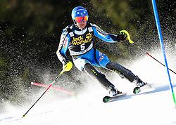HARGIN Mattias of Sweden competes during Men's Slalom - Pokal Vitranc 2014 of FIS Alpine Ski World Cup 2013/2014, on March 9, 2014 in Vitranc, Kranjska Gora, Slovenia. Photo by Matic Klansek Velej / Sportida