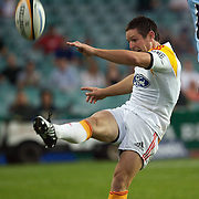 Mike Delany in action during the Super14 match between the Waratahs and the Chiefs at the Sydney Football Stadium in Sydney, Australia on February 20, 2009. The Waratahs won the match 11-7. Photo Tim Clayton