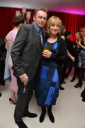 PHILIP GLENISTER and BETH GODDARD at a pre party for the English National Ballet's Christmas performance of The Nutcracker was held at the St.Martin's Lane Hotel, St.Martin's Lane, London on 12th December 2013.