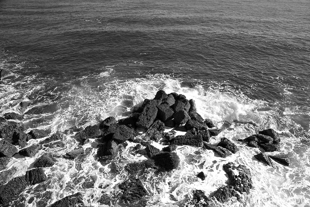 Rocky Shore off Ortigia, looking out to the Ionian Sea beyond.