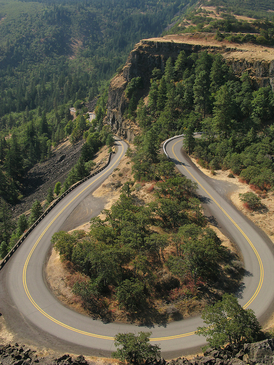 Columbia Gorge Scenic Highway, near Rowena