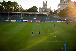 A general view of Recreation Ground  prior to kick off - Mandatory by-line: Ryan Hiscott/JMP - 09/09/2020 - RUGBY - Recreation Ground - Bath, England - Bath Rugby v Worcester Warriors - Gallagher Premiership Rugby