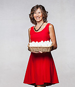 Gabriella Fantolino, proprietria dell'omonima azienda di uova Fantolino