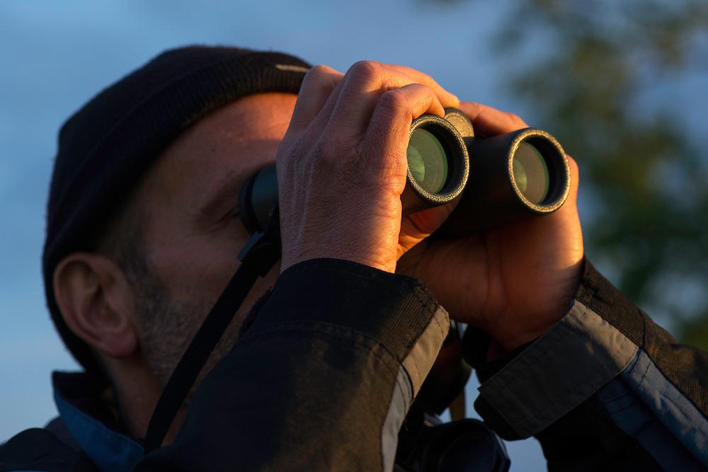 Deli Saavedra, Regional manager, Rewilding Europe, in the Tarcu mountains nature reserve, Natura 2000 area, Southern Carpathians, Romania.