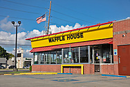 Waffle house  in Arabi on St. Claude closed temporarily ue to the coronavirus pandemic.