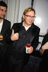 DAVID COLLINS at a party to promote The Landau at The Langham, Portland Place, London W1 on 7th February 2008.<br /><br />NON EXCLUSIVE - WORLD RIGHTS