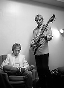 Andy Summers and Sting The Police 1979 Soundcheck