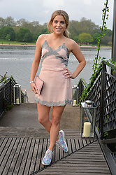 OLIVIA COX at a party to launch the Taylor Morris Explorer Collection held at the Serpentine Lido, Hyde Park, London on 11th May 2016.