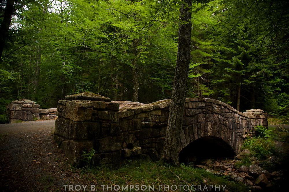 Little Harbor Brook Bridge.Carriage Road 20/22