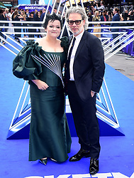 Director Dexter Fletcher and Dalia Ibelhauptaite attending the Rocketman UK Premiere, at the Odeon Luxe, Leicester Square, London.