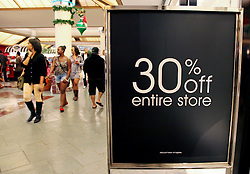 23 November 2012. New Orleans, Louisiana,  USA. <br /> Black Friday. Shoppers descend on the Lakeside Mall as prices are slashed for the traditional post Thanksgiving shopping frenzy.<br /> Photo; Charlie Varley