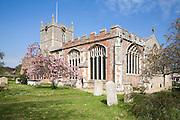 St Mary's parish church, Bures, Suffolk, England