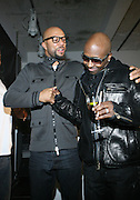 l to r: Common and Kwame at the Common Celebration Capsule Line Launch with Softwear by Microsoft at Skylight Studios on December 3, 2008 in New York City..Microsoft celebrates the launch of a limited-edition capsule collection of SOFTWEAR by Microsoft graphic tees designed by Common. The t-shirt  designs. inspired by the 1980's when both Microsoft and and Hip Hop really came of age, include iconography that depicts shared principles of the technology company and the Hip Hop Star.