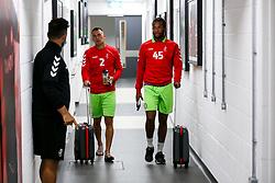 Kasey Palmer and Jack Hunt of Bristol City arrive - Rogan/JMP - 29/08/2020 - Ashton Gate Stadium - Bristol, England - Bristol City v Swindon Town - Pre Season Friendly.