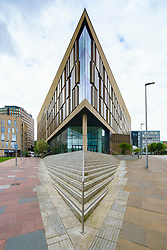 View of the The Technology and Innovation Centre at the University of Strathclyde in Glasgow, Scotland, UK