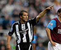 Photo: Jed Wee/Sportsbeat Images.<br /> Newcastle United v Aston Villa. The FA Barclays Premiership. 18/08/2007.<br /> <br /> Newcastle's Michael Owen makes a quiet return from injury.