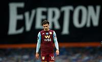 Football - 2019 / 2020 Premier League - Everton vs Aston Villa<br /> <br /> Jack Grealish of Aston Villa dejected after the match at Goodison Park<br /> <br /> COLORSPORT/LYNNE CAMERON
