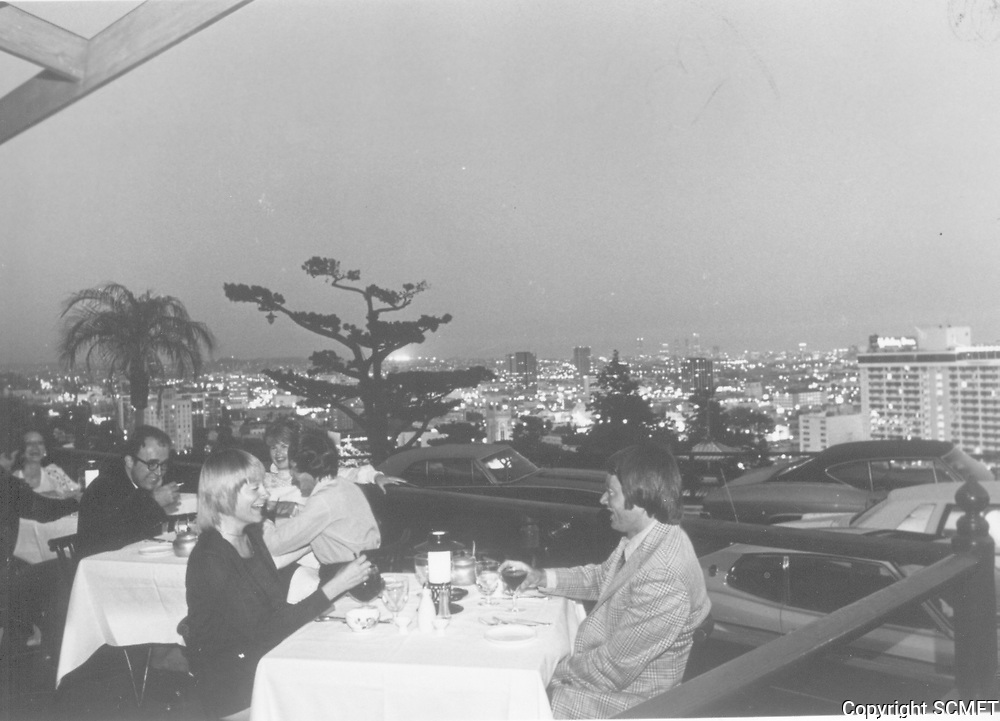 1973 Yamashiro Restaurant in Hollywood
