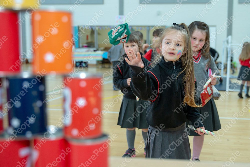 Students enjoy the Ennis National School Jessies Carnival Day