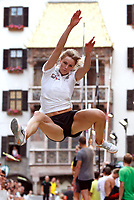 Friidrett<br /> Foto: imago/Digitalsport<br /> NORWAY ONLY<br /> <br /> 03.06.2011  <br /> <br /> Innsbruck<br /> International Golden Roof Challenge <br /> Bild zeigt Margrethe Renstrøm (NOR)