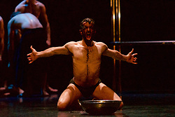 Angelin Preljocaj's MC 14/22 is a hymn to the male body, a meeting of the spiritual and the carnal, a glorification of masculinity and a condemnation of force. Festival Theatre 18th August, 2016, (c) Brian Anderson | Edinburgh Elite media