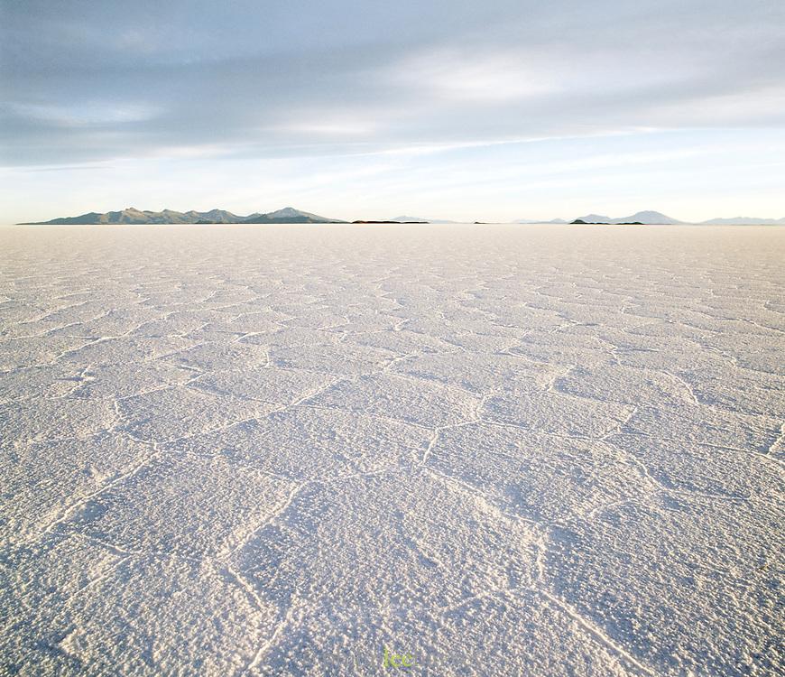 Salar de Uyuni salt flats, the worlds largest salt flats. Potosi Region, Bolivia.
