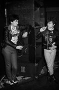 Rezillos Backstage London 1979