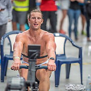 Brook Robertson 5000m Heavyweight 5K race 10:30am<br /> <br /> <br /> www.rowingcelebration.com Competing on Concept 2 ergometers at the 2018 NZ Indoor Rowing Championships. Avanti Drome, Cambridge,  Saturday 24 November 2018 © Copyright photo Steve McArthur / @RowingCelebration