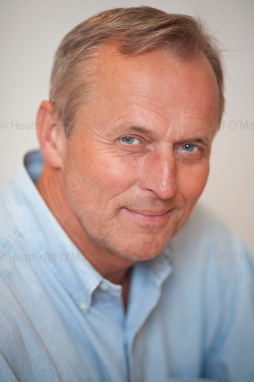 """May0022972 . Daily Telegraph..Weekend..Best selling American author John Grisham, photographed in Charlottesville, Virginia shortly before the launch of his latest novel, aimed at children entitled.""""Theodore Boone"""" about a budding teenage lawyer...Charlottesville , Virginia 17 May  2010...........Not AP.Not Reuters.Not PA.Not Getty.Not AFP"""