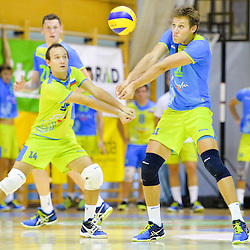 20150828: SLO, Volleyball - Friendly match,  OK Panvita Pomgrad vs Slovenia U21
