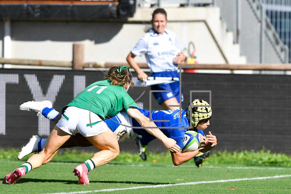 Parma, Italy, 19/09/2021 Stadio Lanfranchi<br /> Rugby World Cup 2021 Qualifier <br /> Italia vs Irlanda <br /> Beatrice Rigoni