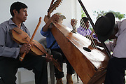 A music group performs during the 2013 Annual General Meeting. Toledo Cacao Growers' Association (TCGA), Julian Cho Technical High School, Mile 14 Southern Highway, Toledo, Belize. January 26, 2013.