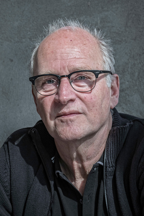 Netherlands. Amsterdam, 13-03-2017. Photo: Patrick Post. Portret van Herman Koch, schrijver.