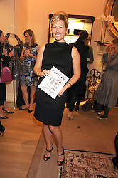 MELANIE CHARLTON-FASCITELLI at a party to celebrate the publication of Shop Your Closet - the ultimate guide to organisingyour closet with style by Melanie Charlton-Fascitelli held at Asprey, New Bond Street, London on 16th September 2008.