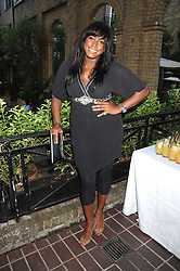 MICA PARIS at a private view of work by Sacha Newley entitled 'Blessed Curse' in association with the Catto Gallery held at the Arts Club, Dover Street, London W1 on 2nd July 2008.<br /><br />NON EXCLUSIVE - WORLD RIGHTS