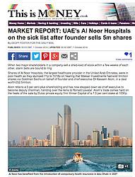 MSN , This is Money website; Skyline of Abu Dhabi