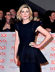 Jodie Whittaker attending the National Television Awards 2018 held at the O2 Arena, London.