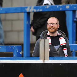 TELFORD COPYRIGHT MIKE SHERIDAN 1/12/2018 - AFC Telford fans during the Vanarama Conference North fixture between AFC Telford United and Bradford Park Avenue AFC.