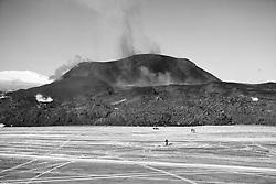 Aerial photos from the volcanic eruption, Fimmvorduhals, Iceland - eldgos á Fimmvörðuhálsi, loftmyndir