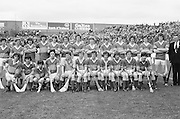 The Tipperary team before the All Ireland Minor Hurling Final, Tipperary v Kilkenny in Croke Park on the 5th September 1976.