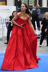 July 24, 2017 - London, London, United Kingdom - Image licensed to i-Images Picture Agency. 24/07/2017. London, United Kingdom. Rihanna arriving at the Valerian premiere in London.  Picture by Stephen Lock / i-Images (Credit Image: © Stephen Lock/i-Images via ZUMA Press)