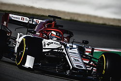 March 1, 2019 - Barcelona, Catalonia, Spain - KIMI RAIKKONEN (FIN) from team Alfa Romeo drives in his C38 during day eight of the Formula One winter testing at Circuit de Catalunya (Credit Image: © Matthias OesterleZUMA Wire)