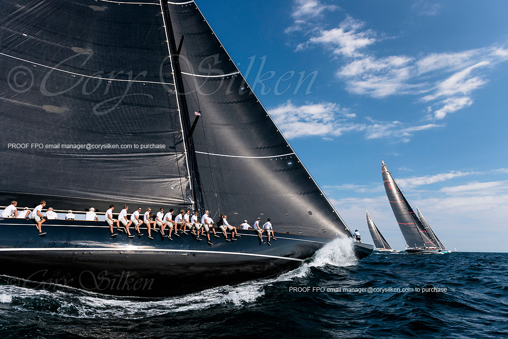 Lionheart sailing in the J Class World Championship, day three.