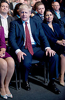 Prime Minister, Boris Johnson at  the Conservative Party Autumn Conference