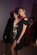 DAKOTA JOHNSON; KARLIE KLOSS, Vogue100 A Century of Style. Hosted by Alexandra Shulman and Leon Max. National Portrait Gallery. London. WC2. 9 February 2016.