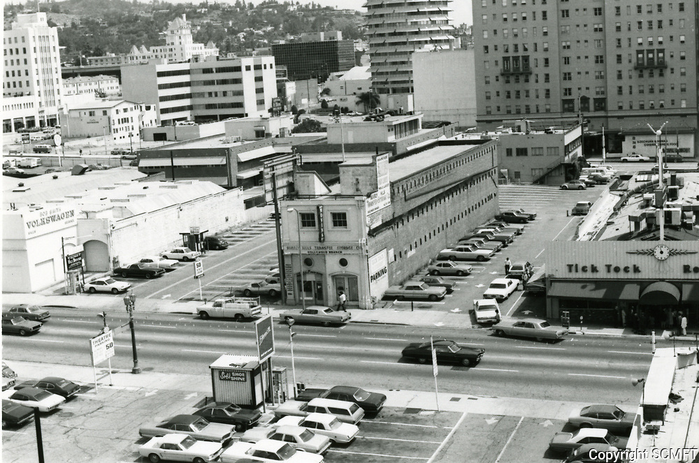 1976 East side of Cahuenga Blvd., just north of Hollywood Blvd.